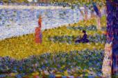La Grande Jatte - Women by the Water (Seurat)