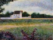 Landscape of the Ile de France (Seurat)