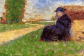 Large Figure in a Landscape (Seurat)