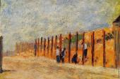 Peasants Driving Stakes (Seurat)