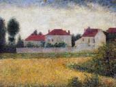 White Houses - City of Avray (Seurat)