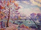 The bridge of arts (Signac)