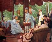 In the Conservatory (Tissot)
