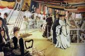 The Ball on Shipboard (Tissot)