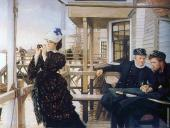 The Captain's Daughter (Tissot)