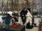 The Captain and the Mate (Tissot)