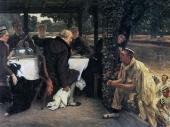 The Prodigal Son in Modern Life - The Fatted Calf (Tissot)