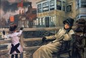 Waiting for the Ferry 1 (Tissot)