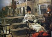 Waiting for the Ferry 2 (Tissot)