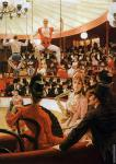 Women of Paris - The Circus Lover (Tissot)