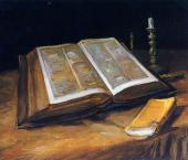 Still Life with Bible (Van Gogh)