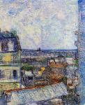 The View from the Artist's Room - Rue Lepic 1 (Van Gogh)