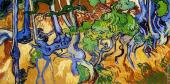 Tree Roots and Trunks (Van Gogh)