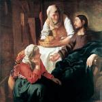 Christ in the house of Martha and Mary* (Vermeer)