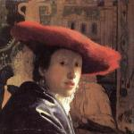 Girl with a red hat* (Vermeer)