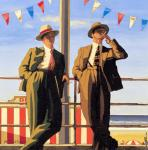 Seaside Sharks (Vettriano)